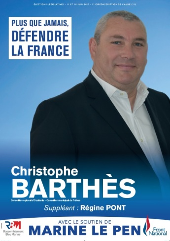 Affiche Christophe